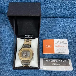 ジーショック(G-SHOCK)のカシオ G-SHOCK GMW-B5000GD-9JF 新品未使用(腕時計(デジタル))