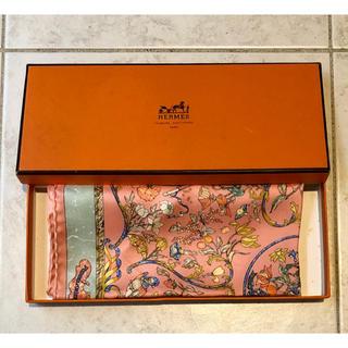 Hermes - 未使用 保管品 可愛らしいカラーリング エルメス スカーフ プチカレ 箱付き