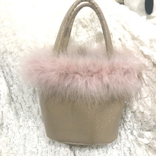 ロキエ(Lochie)のcroco vanity bag(ハンドバッグ)