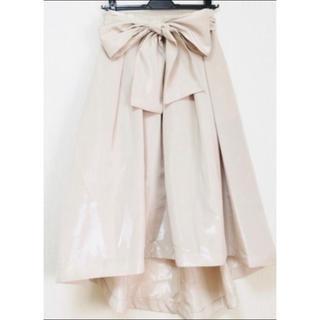 グレースコンチネンタル(GRACE CONTINENTAL)の美品 グレースコンチネンタル フレアスカート ロングスカート ワンピース(ロングスカート)