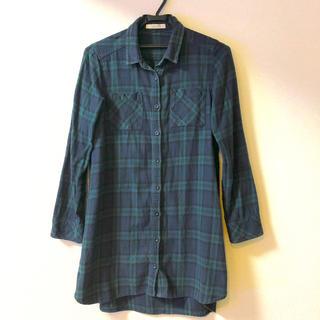 ショコラフィネローブ(chocol raffine robe)のロングシャツ(シャツ/ブラウス(長袖/七分))