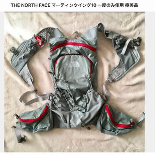 ザノースフェイス(THE NORTH FACE)のTHE NORTH FACE マーティンウイング10 一度のみ使用 極美品(登山用品)