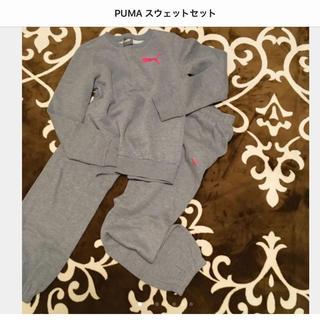 プーマ(PUMA)のPUMA  ショッキングピンクマーク スウェット上下セット(その他)