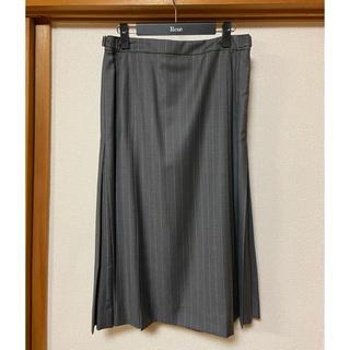 ジュンコシマダ(JUNKO SHIMADA)のJUNKO SHIMADA サイドプリーツスカート(ロングスカート)
