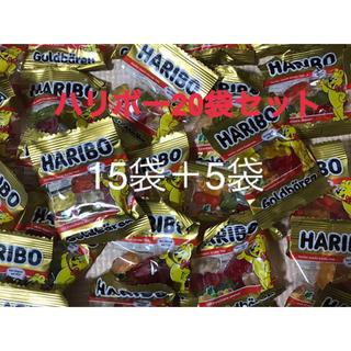 ゴールデンベア(Golden Bear)のハリボー 15袋+5袋(菓子/デザート)