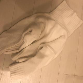 トゥデイフル(TODAYFUL)の韓国 ニット タートルニット ホワイト(ニット/セーター)