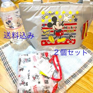 ディズニー(Disney)の【匿名配送!新品】ディズニーエコバッグ&保冷ランチバッグ2個セット(その他)