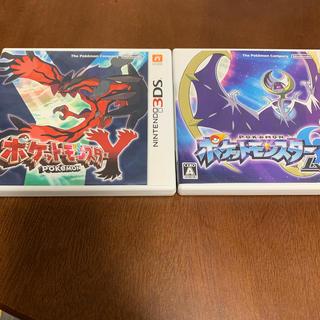 ニンテンドー3DS - ポケモンY & ポケモンムーン 3DSソフト2本セット