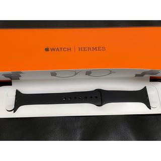 Apple Watch - Apple Watch 5 Hermes 44mm スポーツバンド ブラック