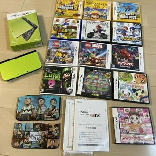 任天堂 - Nintendo 3DS NEW ニンテンドー 本体 LL ライム/ブラック