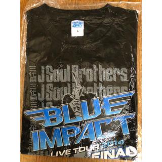 三代目 J Soul Brothers - 三代目JSB 新品TシャツBLUE Impact final 黒S.M.Lサイズ
