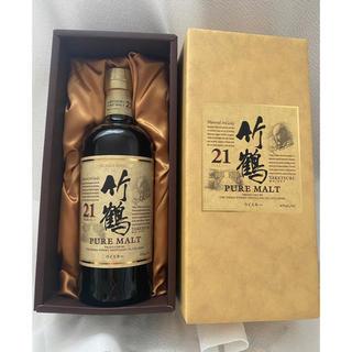 ウイスキー 竹鶴 21年 ピュアモルト 700ml ニッカ 箱付