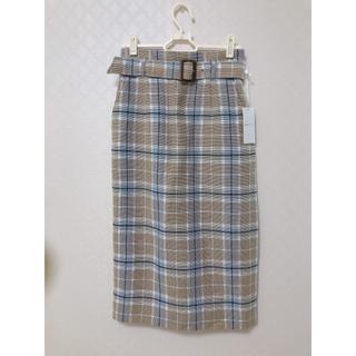 anySiS - 【anySiS】ベルト付き2wayタイトスカート