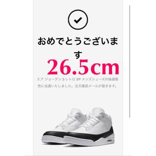 NIKE - NIKE × Fragment エアジョーダン3
