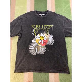 Balenciaga - salute 20ss Flower Anarchy tee s