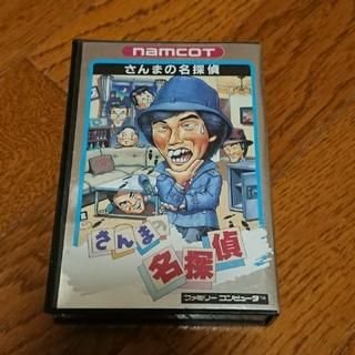 ファミコン カセット さんまの名探偵(家庭用ゲームソフト)