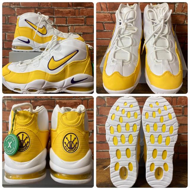 NIKE(ナイキ)のNike Air Max Uptempo 95 Lakers レイカーズ 28 メンズの靴/シューズ(スニーカー)の商品写真