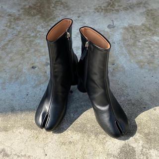 カスタネ(Kastane)のchuclla 足袋ブーツ ブラック(ブーツ)