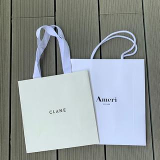 アメリヴィンテージ(Ameri VINTAGE)のCLANE&Ameri VINTAGEショッパー2点セット(ショップ袋)