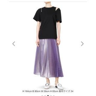 ルシェルブルー(LE CIEL BLEU)のルシェルブルー ブライトプリーツスカート(ロングスカート)