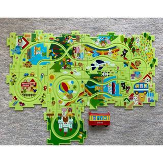 ミキハウス(mikihouse)のミキハウスパズルトレイン(知育玩具)