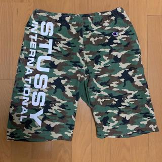 STUSSY - STUSSY × champion shorts S size