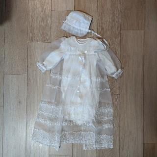 ファミリア(familiar)の赤ちゃんの城 ベビードレス セレモニードレス セット お宮参り(セレモニードレス/スーツ)