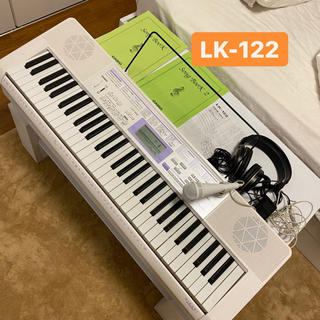 CASIO - casio キーボード LK-122