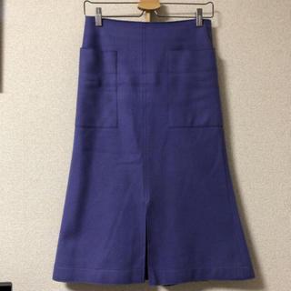 プラージュ(Plage)のプラージュ ウールスカート(ひざ丈スカート)