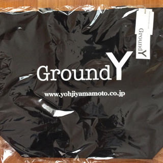 ヨウジヤマモト(Yohji Yamamoto)のグラウンドY トートバッグ 新品未使用(トートバッグ)