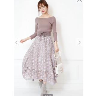 Rirandture - リラ♡ベルト付きイレヘムレーススカート