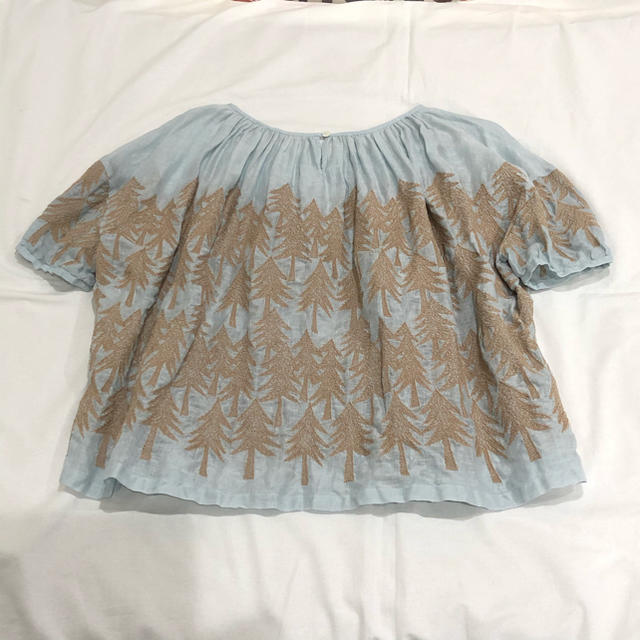 mina perhonen(ミナペルホネン)のミナペルホネン ランドシアター  ブラウス 38 レディースのトップス(シャツ/ブラウス(半袖/袖なし))の商品写真