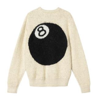 STUSSY - stussy 8ball mohair sweater 8ボール モヘアセーター