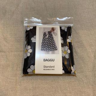 ビームス(BEAMS)のbaggu standard black daisy ラスト1(エコバッグ)