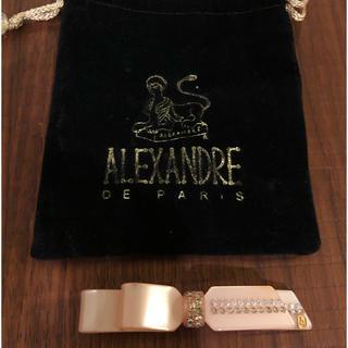 アレクサンドルドゥパリ(Alexandre de Paris)のアレクサンドルドゥパリ バレッタ ピンク(バレッタ/ヘアクリップ)