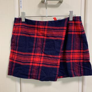 エイチアンドエム(H&M)の最終お値下げ⭐️H&M❣️チェック柄ミニスカート(ミニスカート)