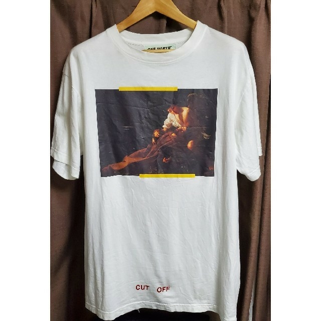 OFF-WHITE(オフホワイト)のOff-white 正規品 Tシャツ アローロゴ ホワイト サイズS 白 メンズのトップス(Tシャツ/カットソー(半袖/袖なし))の商品写真