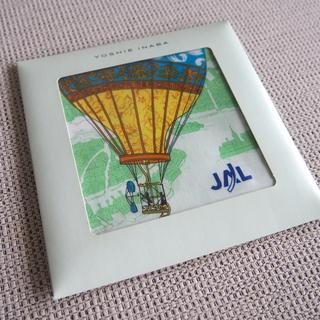ジャル(ニホンコウクウ)(JAL(日本航空))の【新品未使用】yoshie inaba × JAL ハンカチ(ハンカチ)