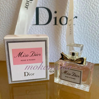Dior - レア♡ミスディオール♡ ローズ&ローズ ミニ香水 オードゥトワレ 5ml