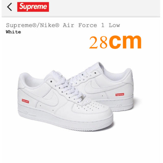 Supreme - 【28.0cm】Supreme / Nike Air Force 1 Low 白