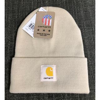 carhartt - 【新品】Carhartt ニット帽 MADISON LOGO CAP ベージュ