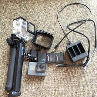 ゴープロ(GoPro)の★届いてすぐ使える超美品★  Gopro hero6(コンパクトデジタルカメラ)