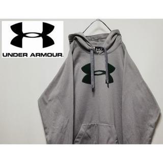 UNDER ARMOUR - 197 Under Armour L プルオーバーパーカー 刺繍ロゴ