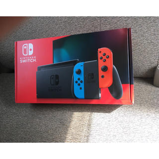Nintendo Switch - 任天堂スイッチ本体 新型 新品 未開封 ネオン ブルー