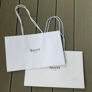 アメリヴィンテージ(Ameri VINTAGE)のAmeri  Vintage ショッパー2つセット(ショップ袋)