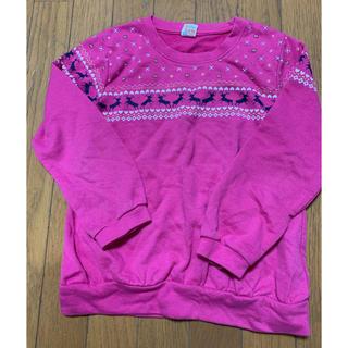 エムピーエス(MPS)のMPS女児長袖トレーナー130(Tシャツ/カットソー)