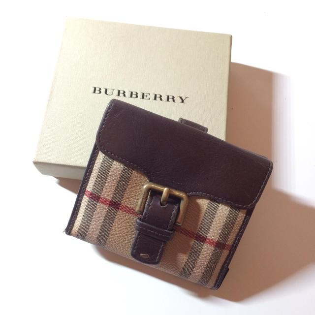 pretty nice 203b8 0c6e3 バーバリー 二つ折り財布 | フリマアプリ ラクマ