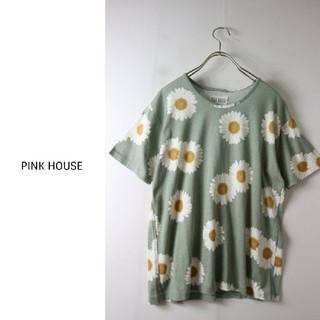 ピンクハウス(PINK HOUSE)のピンクハウス可愛いマーガレット柄(Tシャツ(半袖/袖なし))