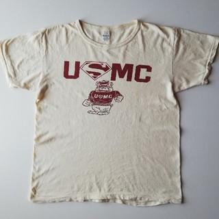 ウエアハウス(WAREHOUSE)のWAREHOUSE/2ND-HAND/USMCフロントプリントT/USE(Tシャツ/カットソー(半袖/袖なし))