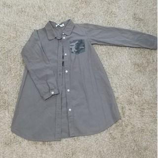 エムピーエス(MPS)のMPSロングシャツ 130cm(ブラウス)